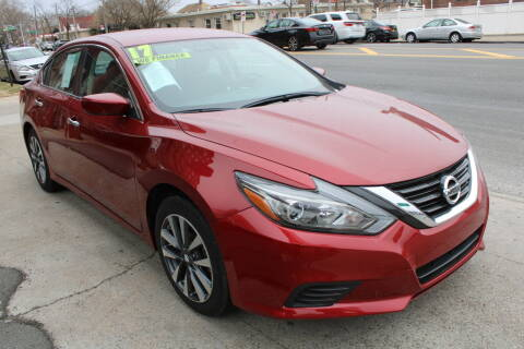 2017 Nissan Altima for sale at LIBERTY AUTOLAND INC in Jamaica NY