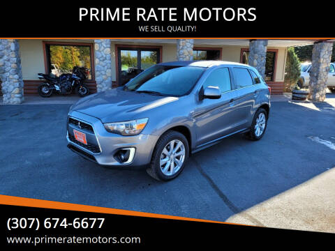 2015 Mitsubishi Outlander Sport for sale at PRIME RATE MOTORS in Sheridan WY