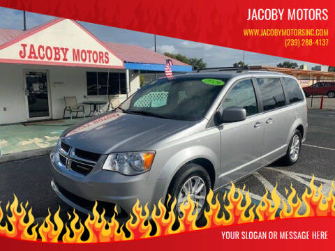 2019 Dodge Grand Caravan for sale at Jacoby Motors in Fort Myers FL