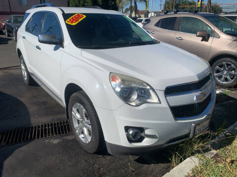 2011 Chevrolet Equinox for sale at Westcoast Auto Wholesale in Los Angeles CA