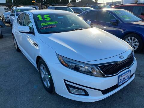 2015 Kia Optima for sale at CAR GENERATION CENTER, INC. in Los Angeles CA