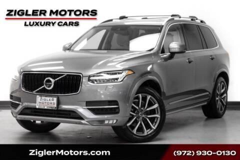 2018 Volvo XC90 for sale at Zigler Motors in Addison TX