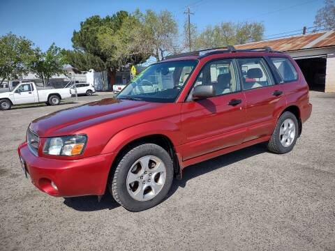 2003 Subaru Forester for sale at Larry's Auto Sales Inc. in Fresno CA