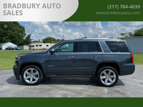 2019 Chevrolet Tahoe for sale at BRADBURY AUTO SALES in Gibson City IL