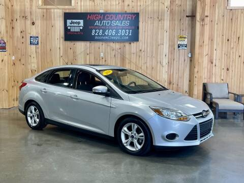 2014 Ford Focus for sale at Boone NC Jeeps-High Country Auto Sales in Boone NC
