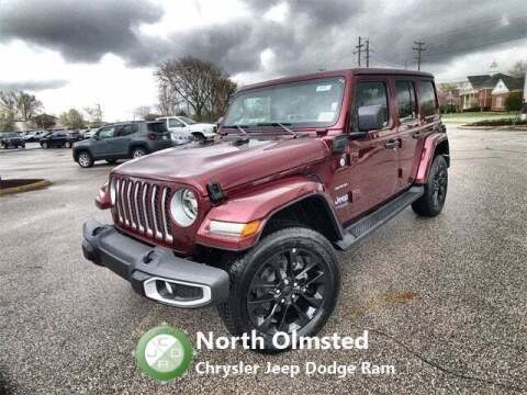2021 Jeep Wrangler Unlimited for sale at North Olmsted Chrysler Jeep Dodge Ram in North Olmsted OH