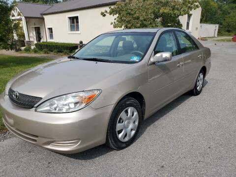 2002 Toyota Camry for sale at Wallet Wise Wheels in Montgomery NY