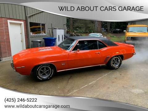 1969 Chevrolet Camaro for sale at Wild About Cars Garage in Kirkland WA