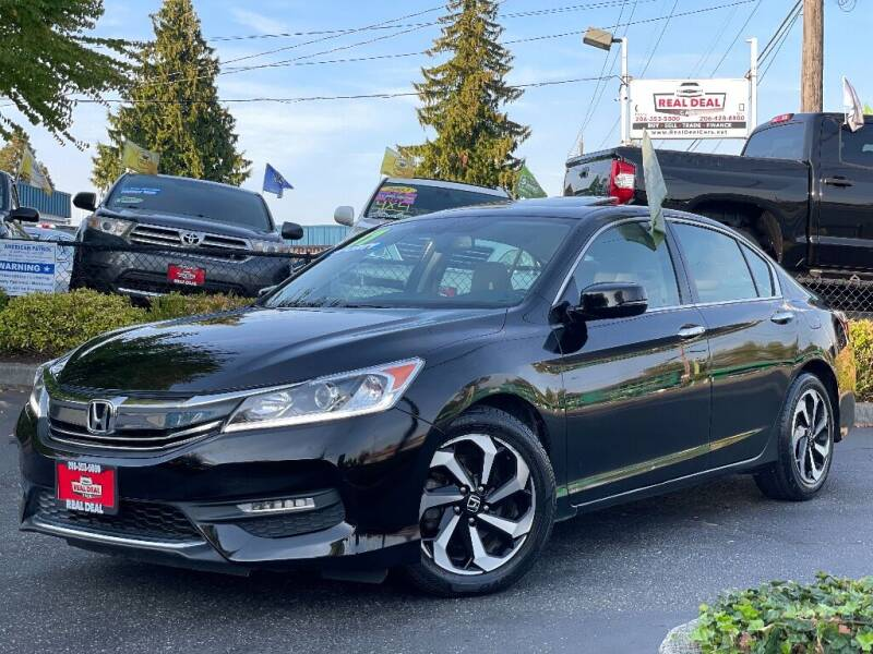 2017 Honda Accord for sale at Real Deal Cars in Everett WA