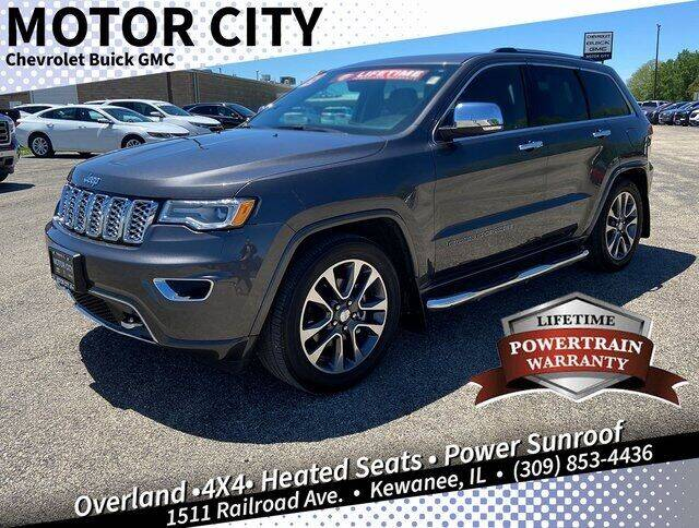 2018 Jeep Grand Cherokee for sale in Kewanee, IL