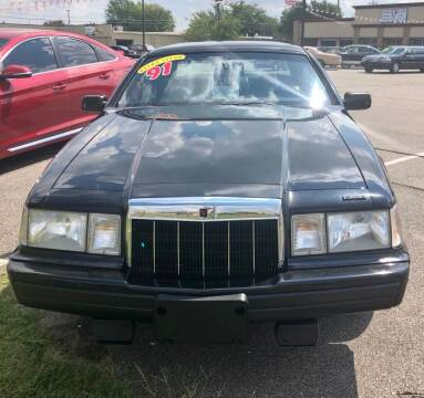 1991 Lincoln Mark VII for sale at Iconic Motors of Oklahoma City, LLC in Oklahoma City OK