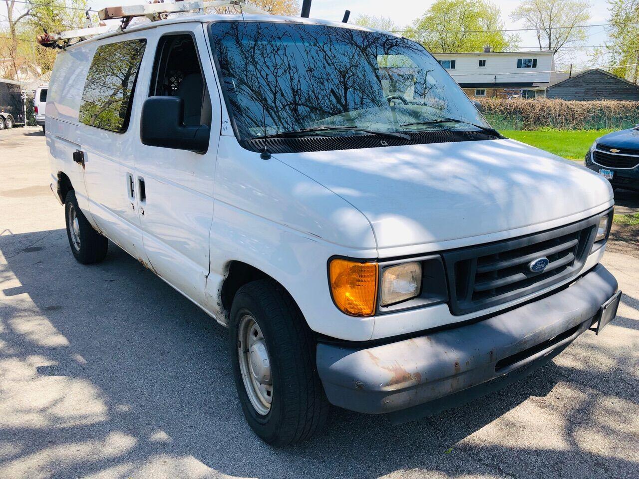 White 2006 FORD E-SERIES CARGO for sale in Bridgeview, IL Photo 9
