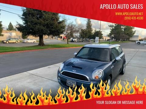 2009 MINI Cooper Clubman for sale at APOLLO AUTO SALES in Sacramento CA