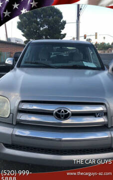 2005 Toyota Tundra for sale at The Car Guys in Tucson AZ