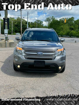 2012 Ford Explorer for sale at Top End Auto in North Atteboro MA