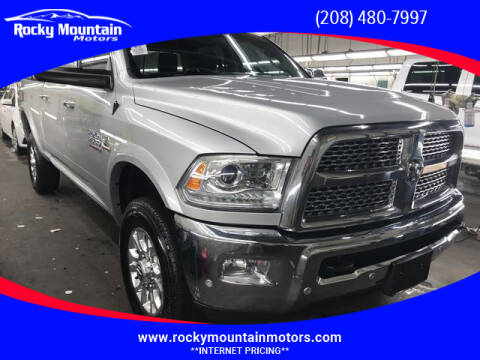 2018 RAM Ram Pickup 2500 for sale at Rocky Mountain Motors in Idaho Falls ID