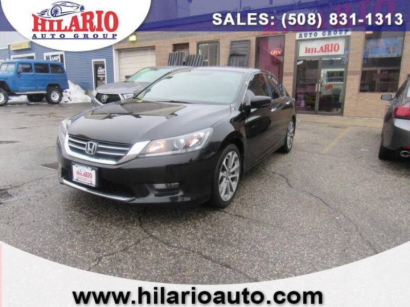 2015 Honda Accord for sale at Hilario's Auto Sales in Worcester MA
