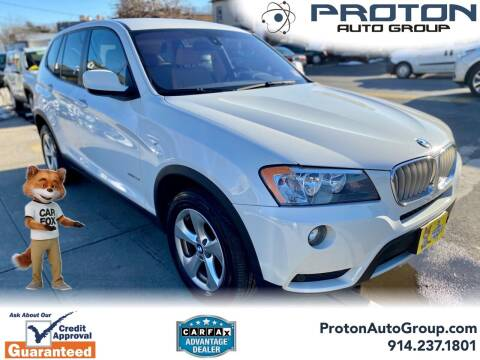 2011 BMW X3 for sale at Proton Auto Group in Yonkers NY