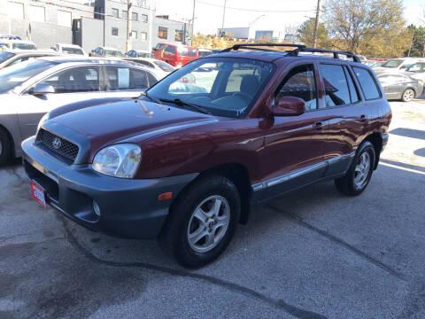 2004 Hyundai Santa Fe for sale at Sonny Gerber Auto Sales in Omaha NE