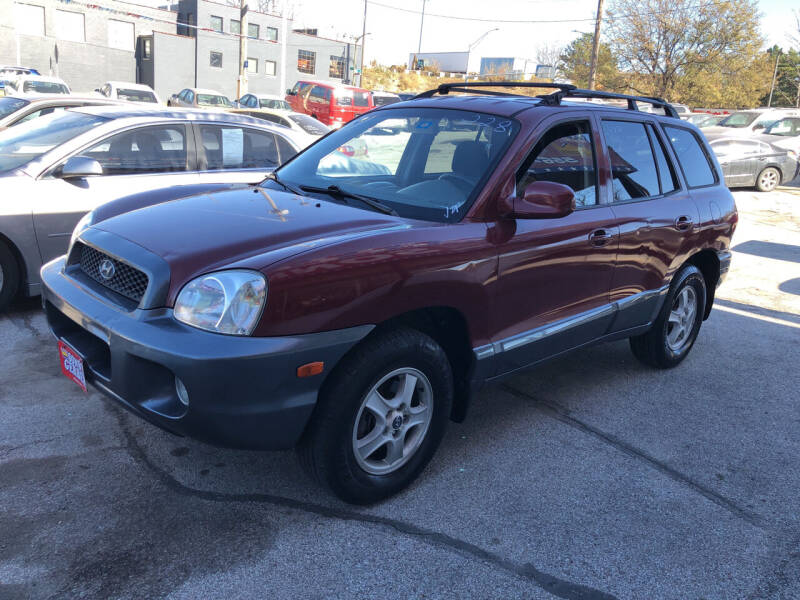 2004 Hyundai Santa Fe for sale at Sonny Gerber Auto Sales in Omaha NE