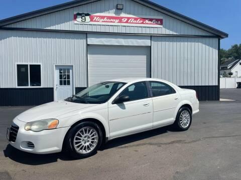2005 Chrysler Sebring for sale at Highway 9 Auto Sales - Visit us at usnine.com in Ponca NE