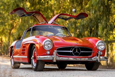 1955 Mercedes-Benz SL-Class for sale at Gullwing Motor Cars Inc in Astoria NY