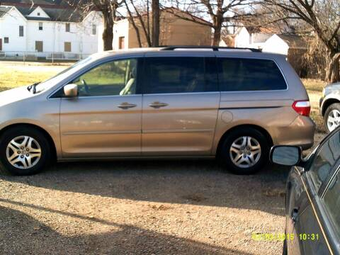 2006 Honda Odyssey for sale at D & D Auto Sales in Topeka KS