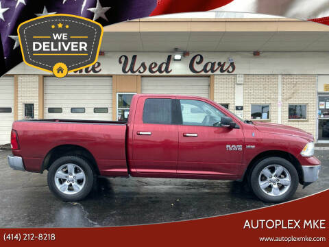 2013 RAM Ram Pickup 1500 for sale at Autoplexwest in Milwaukee WI
