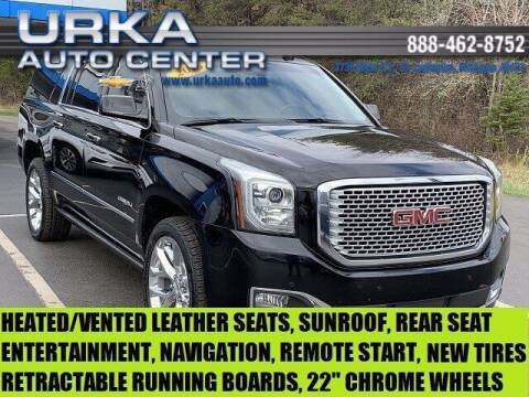 2016 GMC Yukon XL for sale at Urka Auto Center in Ludington MI