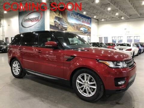 2015 Land Rover Range Rover Sport for sale at Godspeed Motors in Charlotte NC