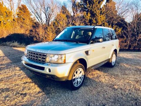 2008 Land Rover Range Rover Sport for sale at Iconic Motors of Oklahoma City, LLC in Oklahoma City OK
