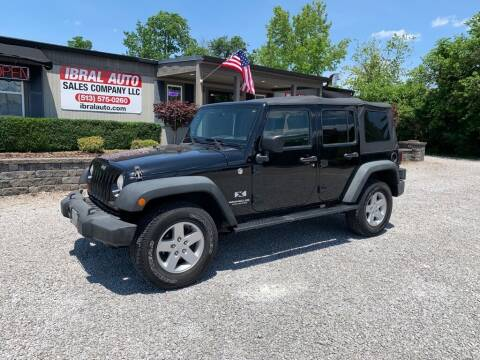 2008 Jeep Wrangler Unlimited for sale at Ibral Auto in Milford OH