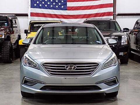 2015 Hyundai Sonata for sale at Texas Motor Sport in Houston TX