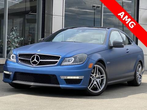 2012 Mercedes-Benz C-Class for sale at Carmel Motors in Indianapolis IN