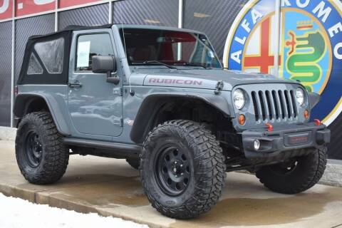 2013 Jeep Wrangler for sale at Alfa Romeo & Fiat of Strongsville in Strongsville OH
