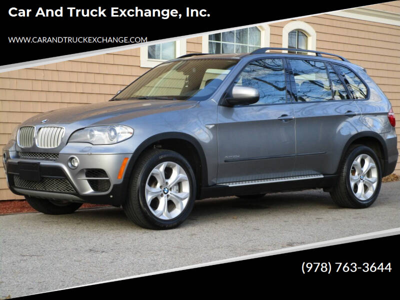2011 BMW X5 for sale at Car and Truck Exchange, Inc. in Rowley MA
