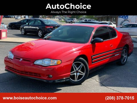 2004 Chevrolet Monte Carlo for sale at AutoChoice in Boise ID