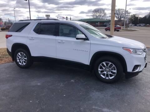 2019 Chevrolet Traverse for sale at Tonys Car Sales in Richmond IN