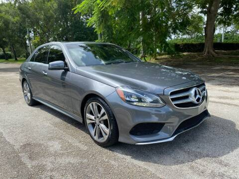 2016 Mercedes-Benz E-Class for sale at DELRAY AUTO MALL in Delray Beach FL