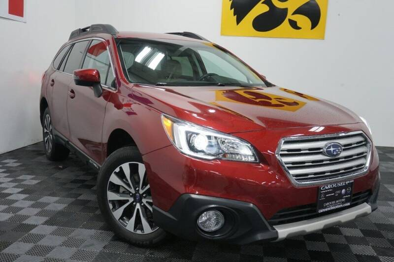 2016 Subaru Outback for sale at Carousel Auto Group in Iowa City IA