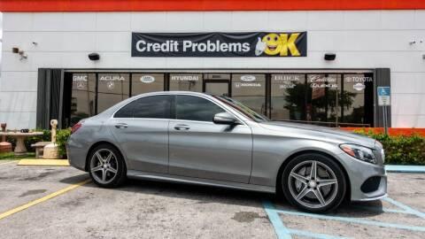 2015 Mercedes-Benz C-Class for sale at Car Depot in Miramar FL