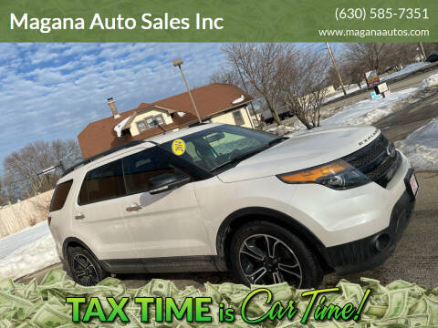 2014 Ford Explorer for sale at Magana Auto Sales Inc in Aurora IL