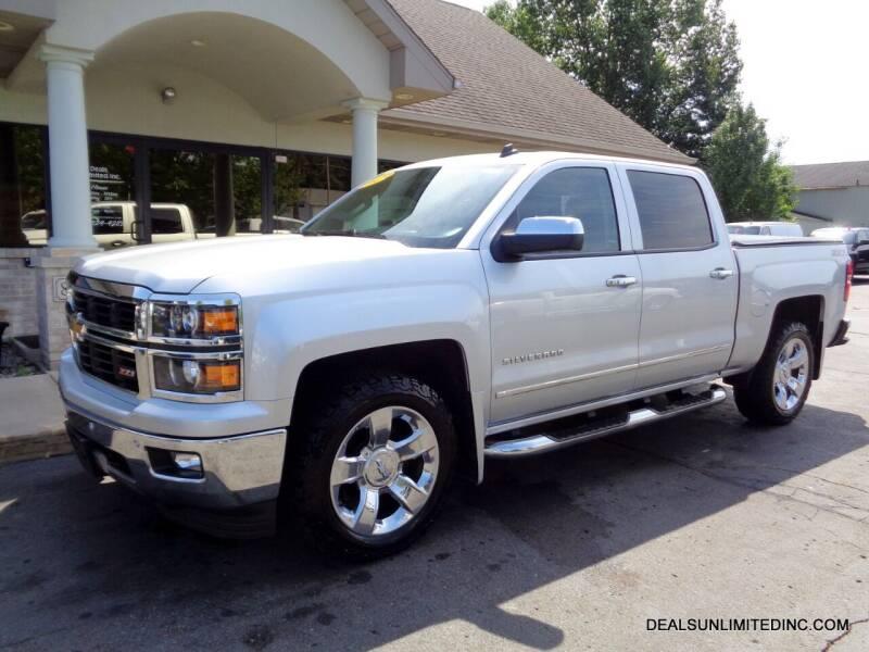 2014 Chevrolet Silverado 1500 for sale at DEALS UNLIMITED INC in Portage MI