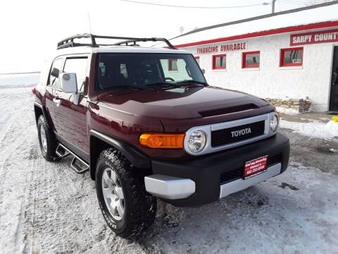 2008 Toyota FJ Cruiser for sale at Sarpy County Motors in Springfield NE