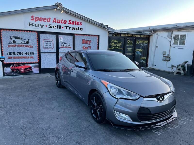 2017 Hyundai Veloster for sale at Speed Auto Sales in El Cajon CA