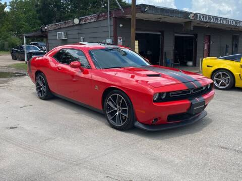 2016 Dodge Challenger for sale at Texas Luxury Auto in Houston TX