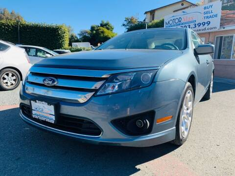 2011 Ford Fusion for sale at MotorMax in Lemon Grove CA