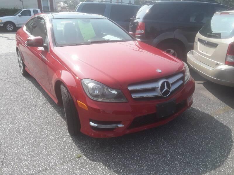 2012 Mercedes-Benz C-Class for sale at Autolistix LLC in Salem NJ