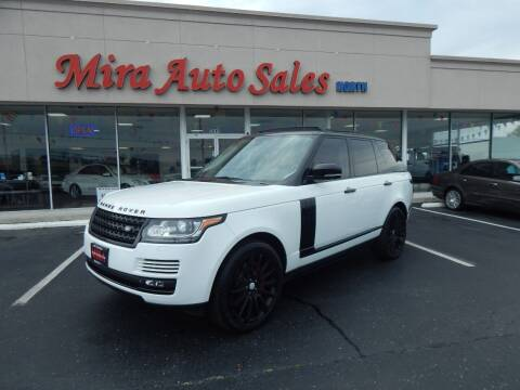 2015 Land Rover Range Rover for sale at Mira Auto Sales in Dayton OH