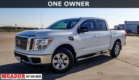 2017 Nissan Titan for sale at Meador Dodge Chrysler Jeep RAM in Fort Worth TX